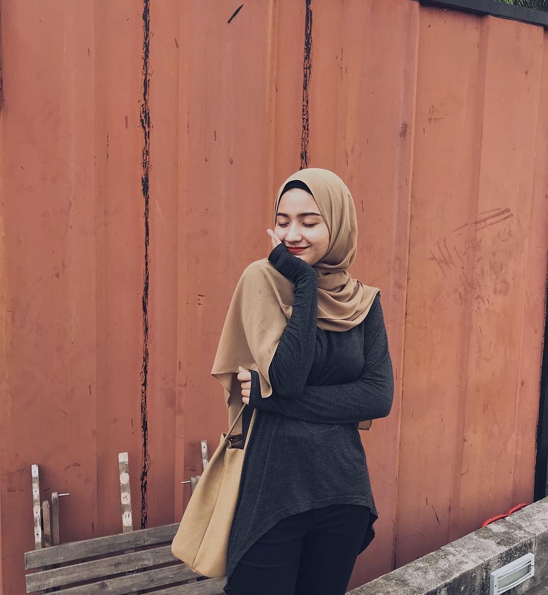 wanita hijab hijabis style (Dengan gambar) | Gaya hijab ...