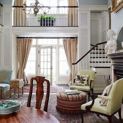 drawing room balcony architects manhattan home housey goodness rh pinterest com