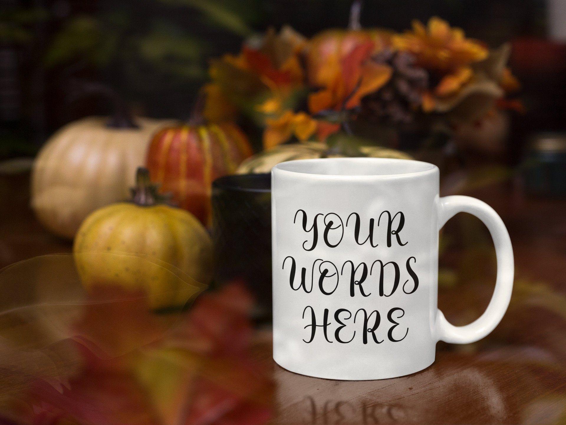 Custom Mug - Coffee mug Gift - Personalized Mug - Customized Mug - Unique Mug - Coffee Cup - Mugs - Right & Left Print Mug - Dishwasher Safe #custommugs