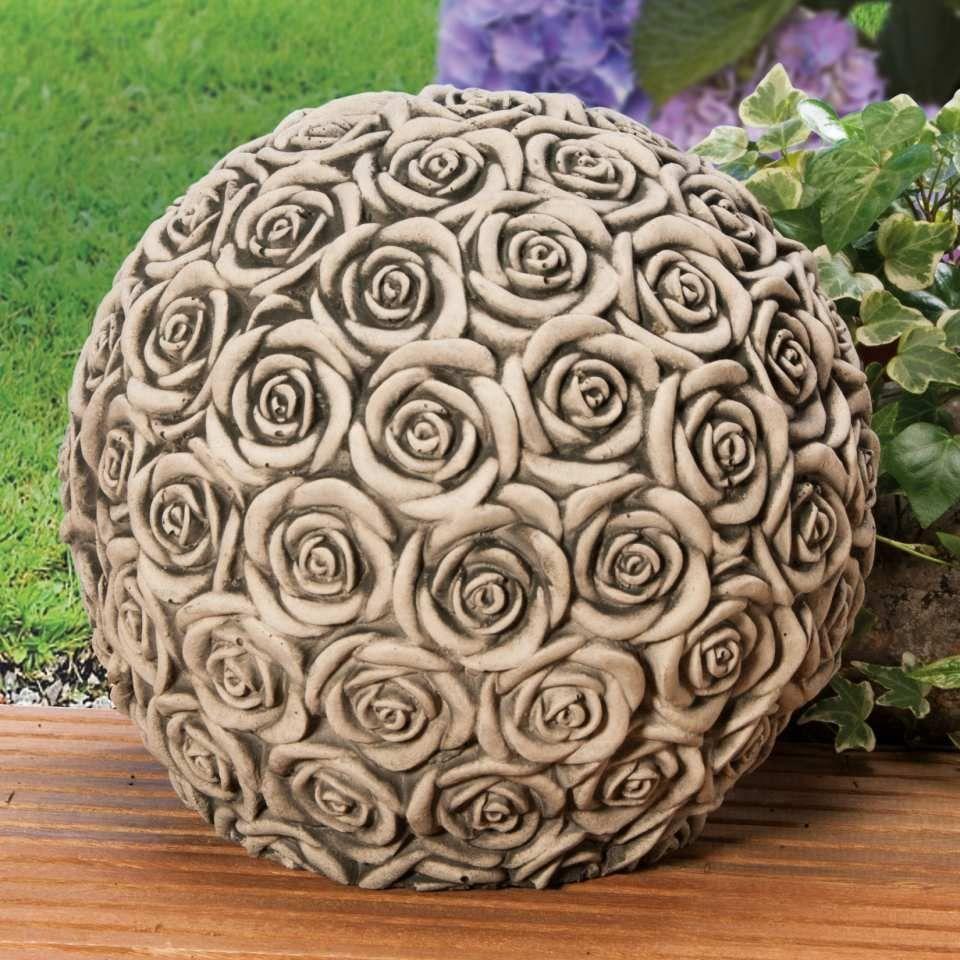 Bildergebnis für keramik garten kugel | Gartenkugeln ...
