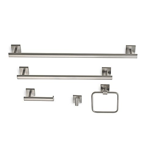 The Epitome Of Modern Minimalism, Gatcou0027s Elevate Collection Hardware Will  Give Your Bath A Sleek Contemporary Look. The Crisp Clean Lines, Satin  Nickel ...
