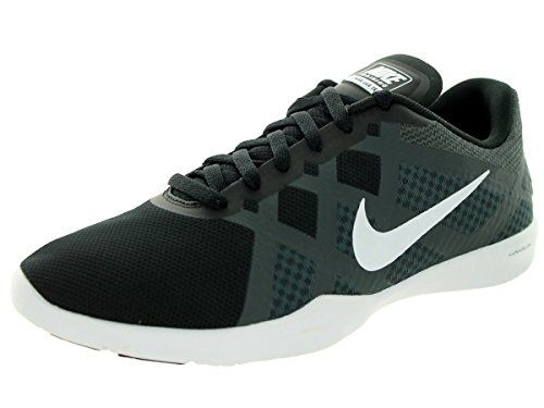Nike Women's Lunar Lux Tr Black/White/Anthracite/Volt Training Shoe 8 Women
