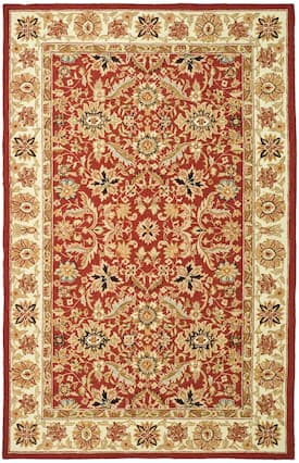Safavieh Red Chelsea Hk157 Rug Traditional Rectangle 1 8 X 2 6 Safavieh Rugs Area Rug Collections