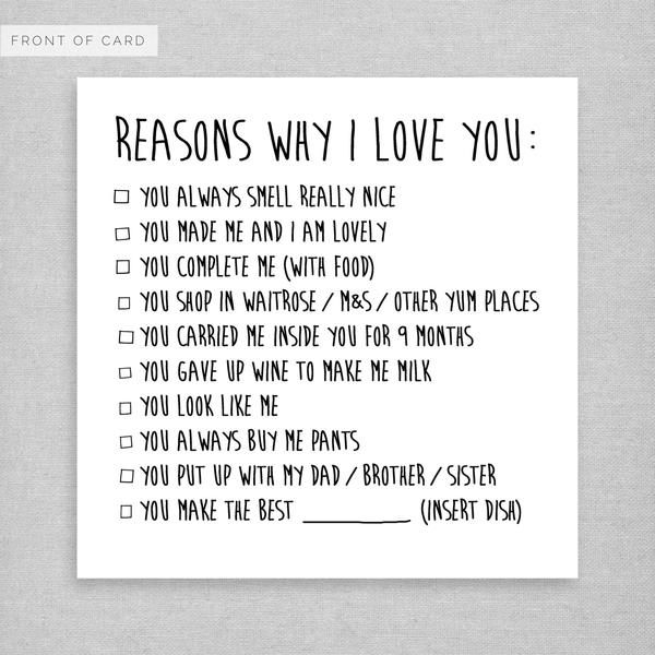 52 List You I Reasons Why Love Boyfriend