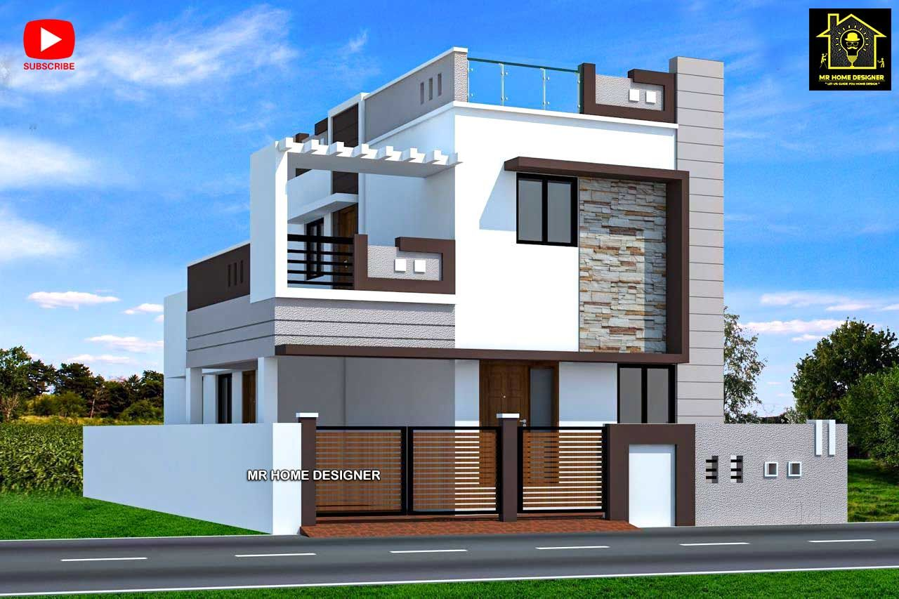 2 floor elevation designs in 2020 House elevation
