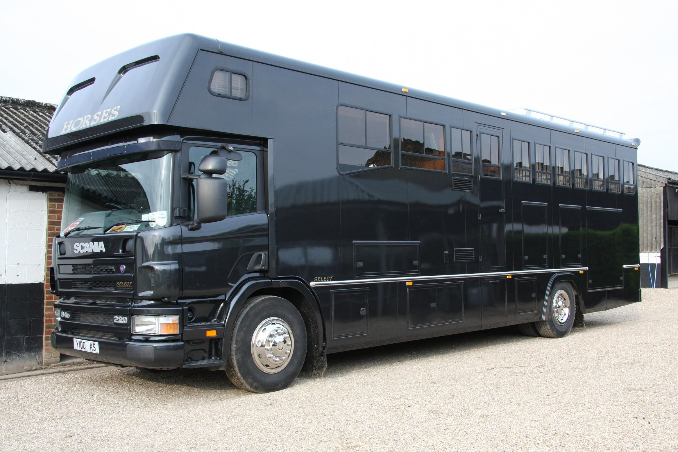 5 Horse #Scania + Living #Horsebox   For sale on #HorseDeals