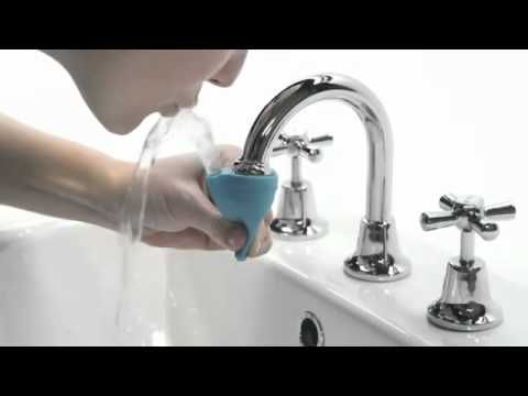Simple Attachment To Turn Taps Into Drinking Fountains Red Dot