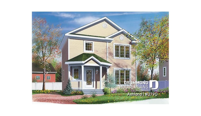 Discover the plan 2790 Ashland which will please you for its 3 bedrooms and for its Country styles