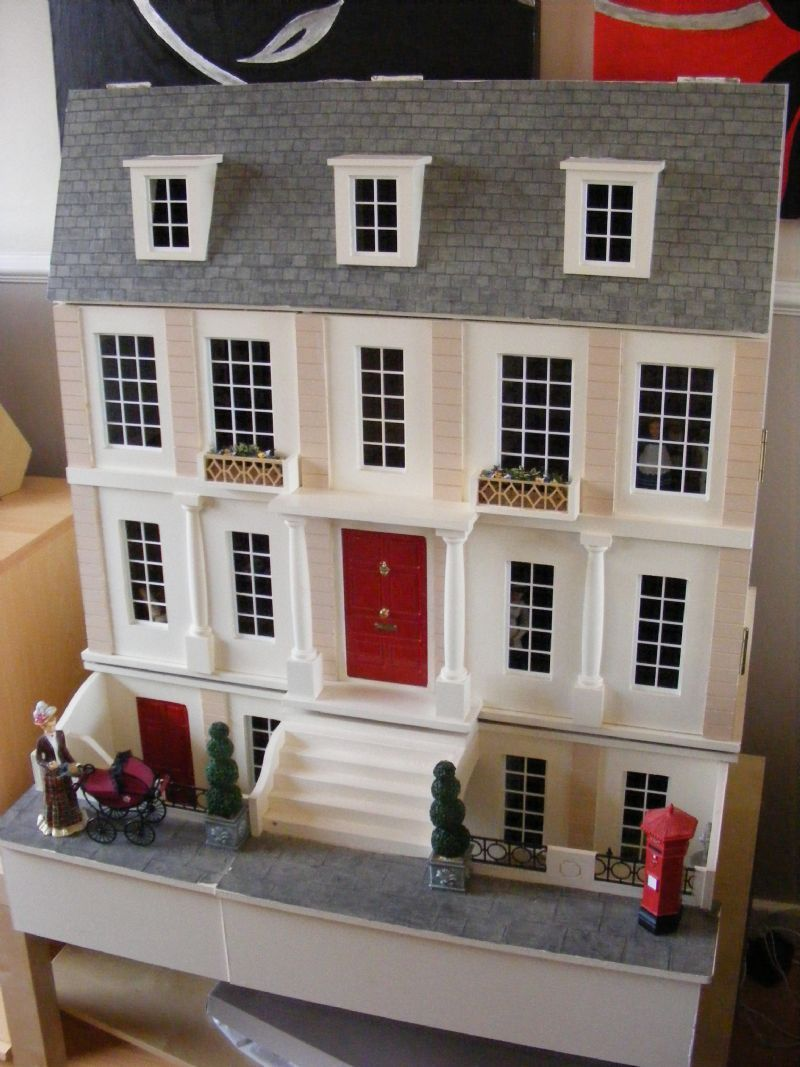 Pin By Deborah Lilly On Violets Dolls House Doll Houses For Sale Basement House Doll House