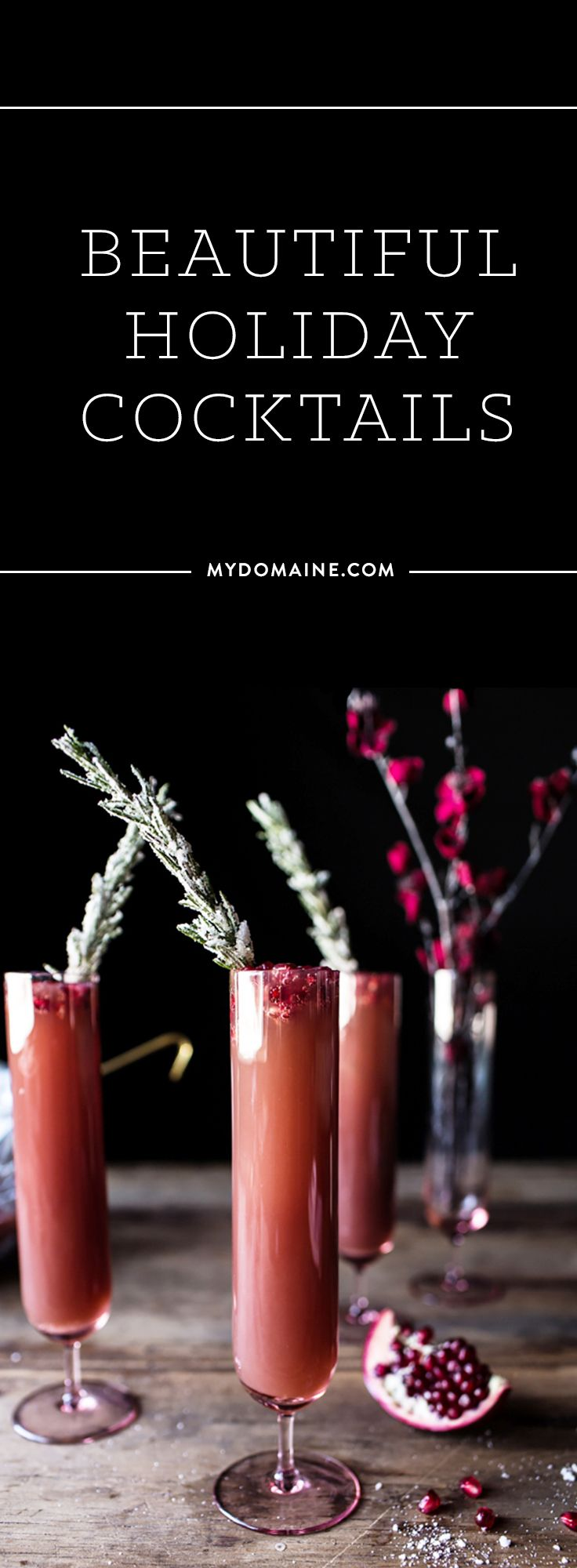Delicious cocktails to make this holiday season