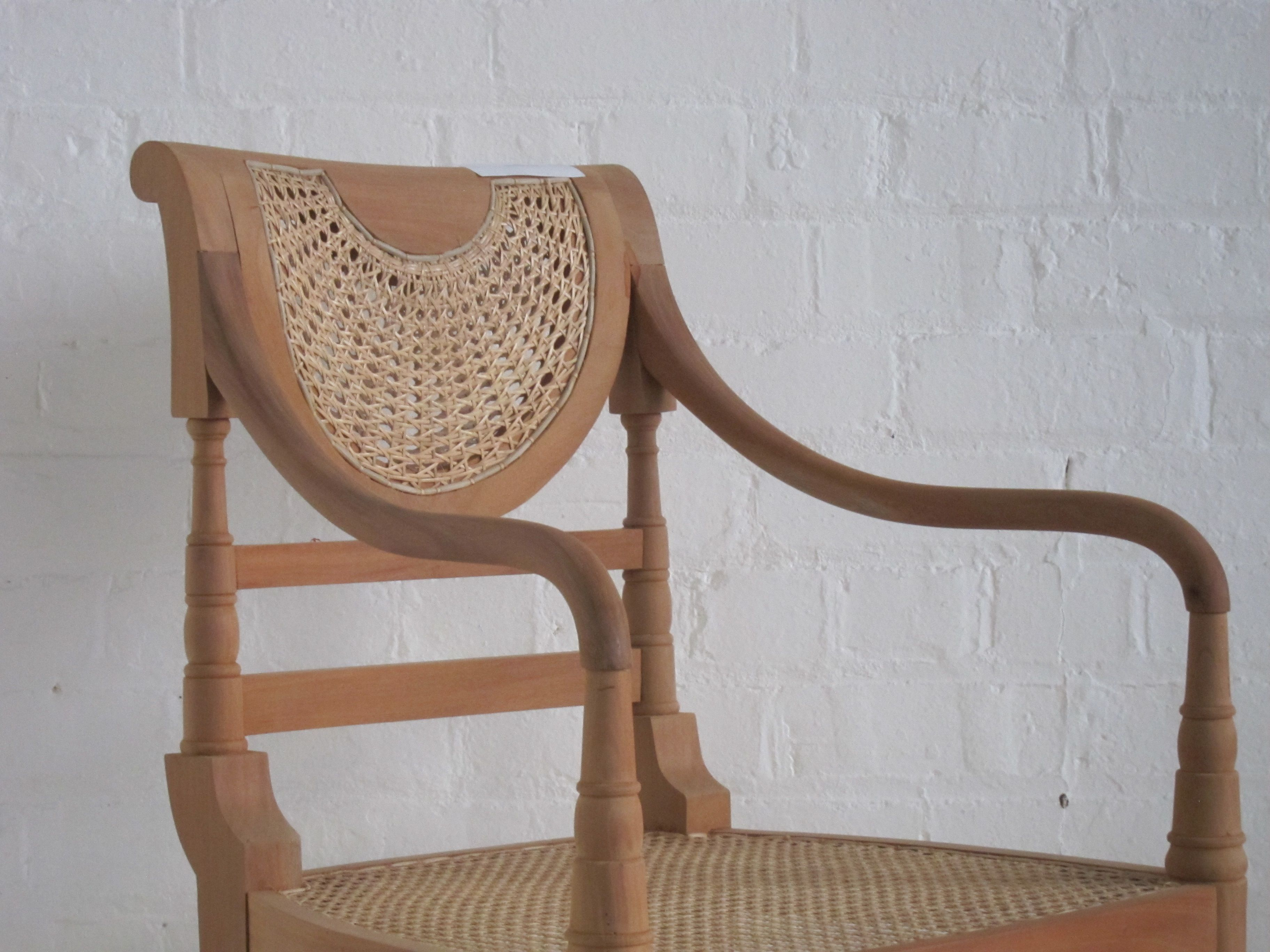 Raffles rattan armchair by Hidden Mill. Create your own ...