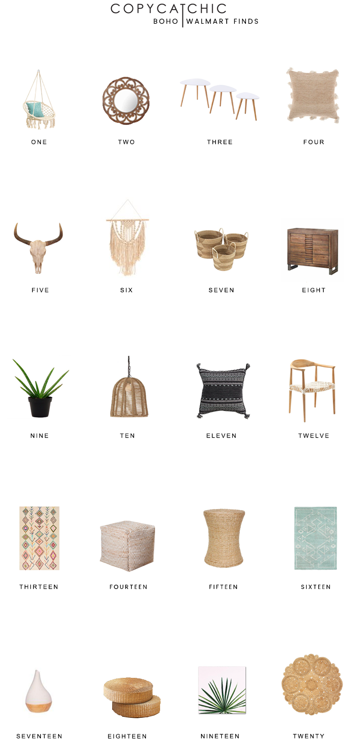 bohemian decor and furniture for less copycatchic luxe living for rh pinterest com