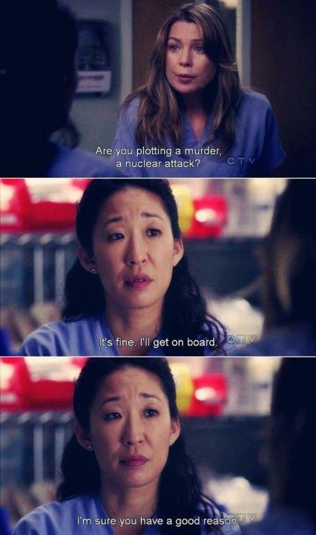 Friendship | Movie & TV Quotes | Pinterest | Greys anatomy ...