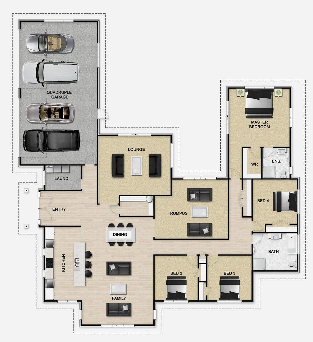 Golden Homes Plan: Vanquish | New Zealand floor plans | Pinterest ...