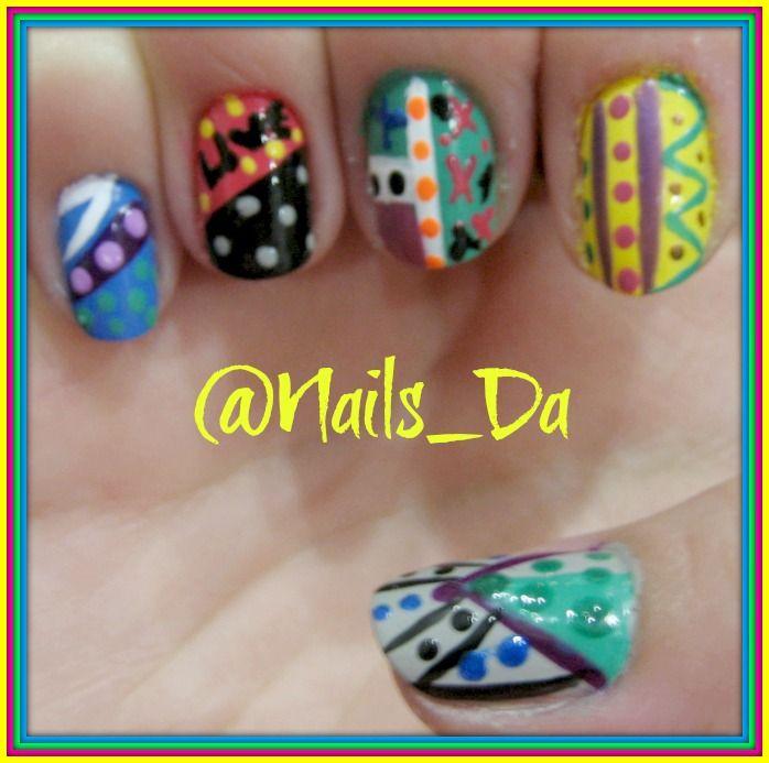 NAILS variete funny - Arte en tus uñas by @Nails_Da Follow ...