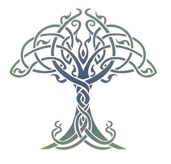 celtic tree of life stencil designs from stencil kingdom carving rh pinterest com