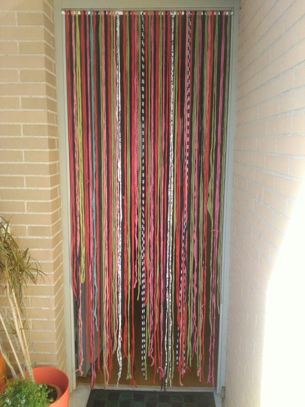 decorar con trapillo una cortina muy veraniega santa pazienzia. Black Bedroom Furniture Sets. Home Design Ideas
