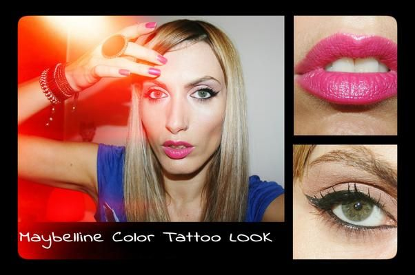 Maybelline Color Tattoo Look | LUUUX