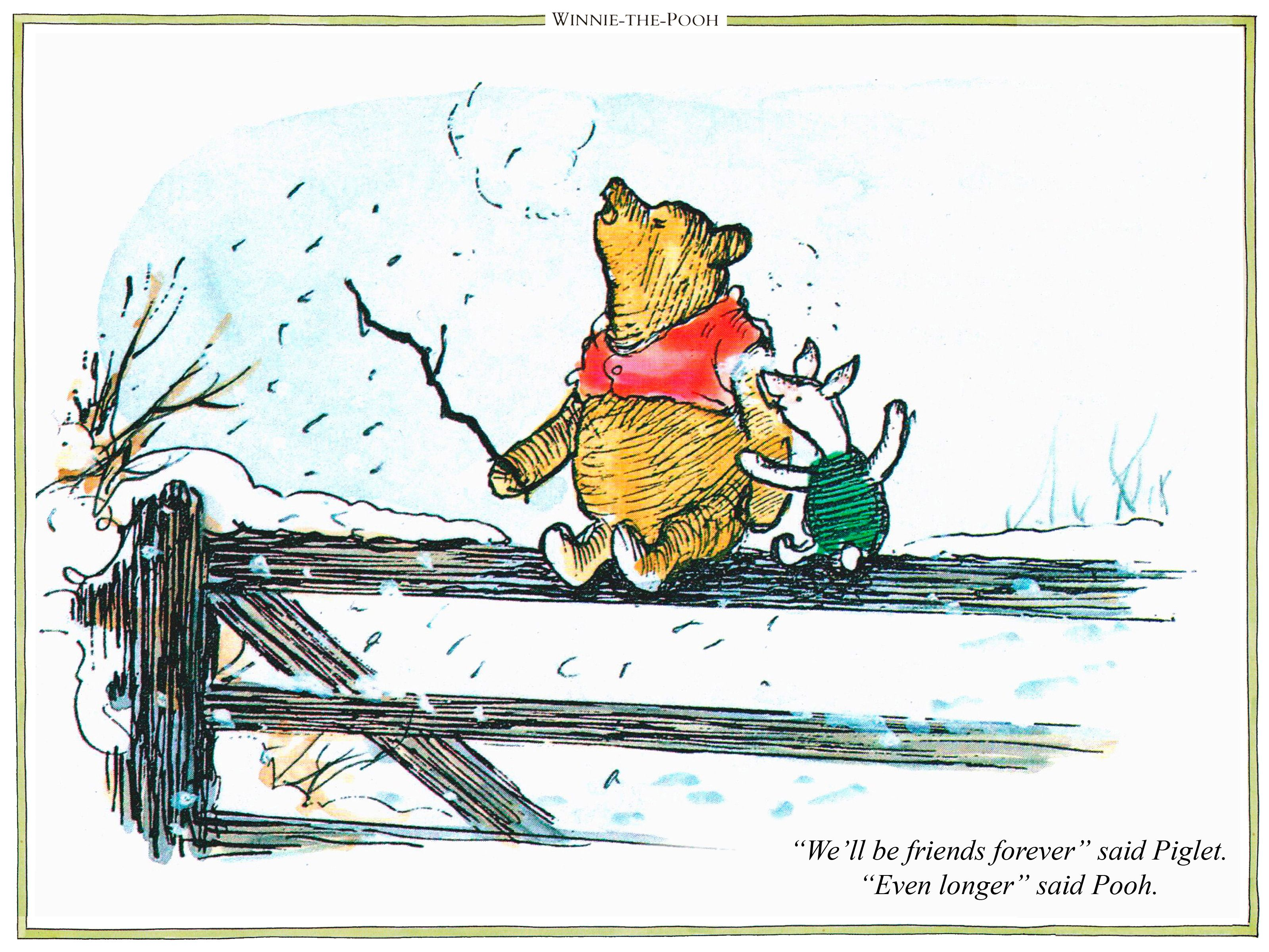 Quotes From Winnie The Pooh About Friendship Products Archive  Classic Winnie The Poohclassic Winnie The Pooh