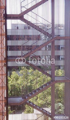 Escalera exterior Arquitectura Pinterest Escaleras exteriores