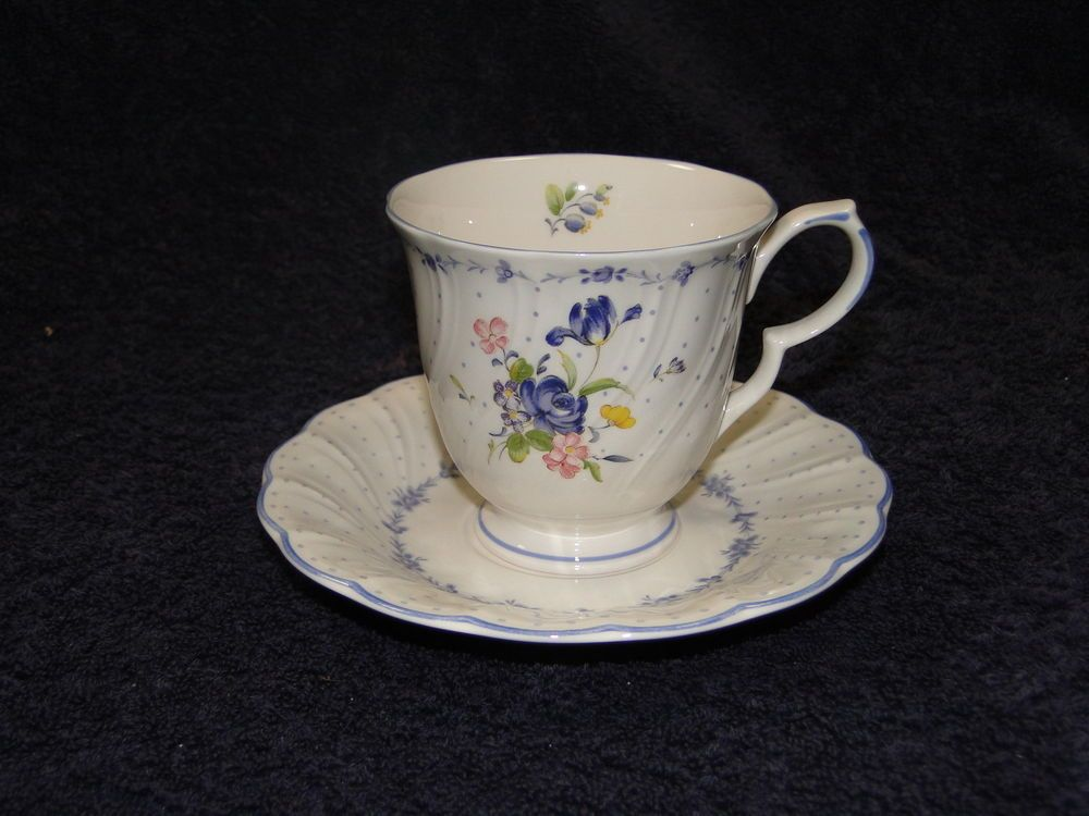 Nikko Blue Peony Footed Tea Cup Saucer Set EXCELLENT & Nikko Blue Peony Footed Tea Cup Saucer Set EXCELLENT | Blue peonies ...