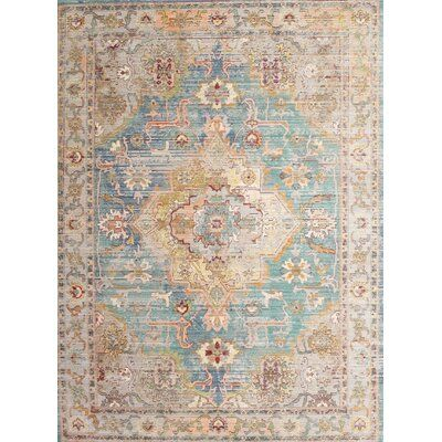 Bloomsbury Market Catia Traditional Beige Blue Brown Area Rug In 2021 Beige Area Rugs Rugs Brown Area Rugs
