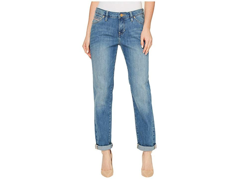 Jag Jeans Alex Boyfriend Platinum Denim in Vienna Vienna Womens Jeans Stylishly laidback The Alex Boyfriend has a mid rise relaxed fit and straight leg Roll or unroll the...