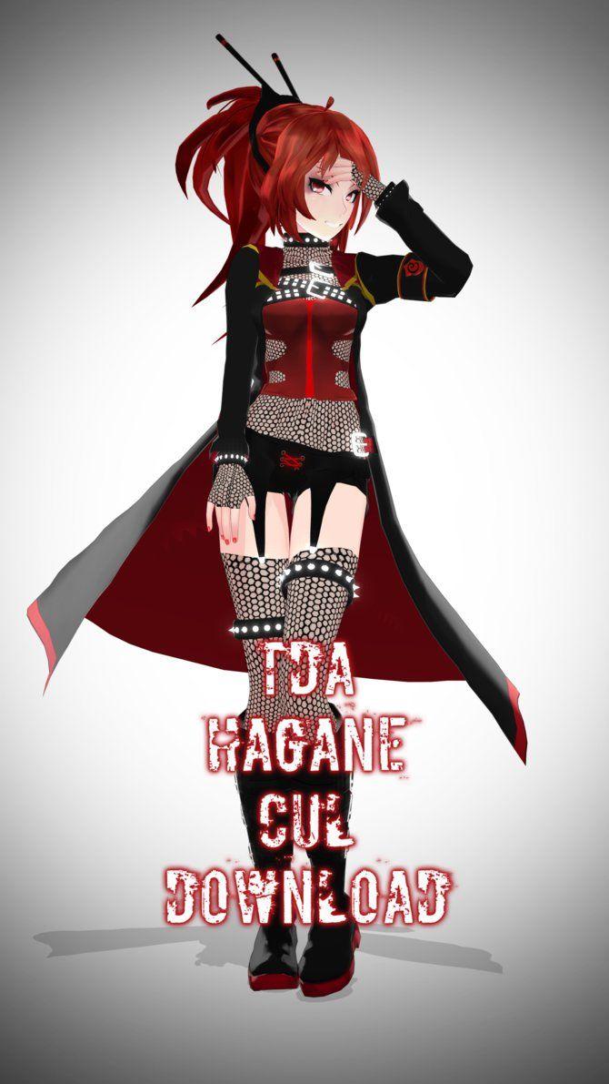 Tda Hagane CUL Download by Kodd84 on DeviantArt | MMD ... Seeu Вокалоид