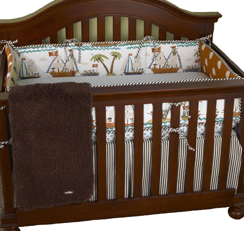 Cotton Tale Aye Matie Pirate Baby Bedding Beach crib