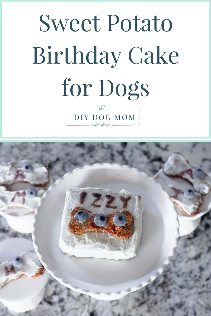 Sweet Potato Birthday Cake For Dogs