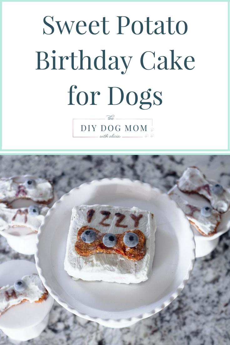 Sweet Potato Birthday Cake For Dogs Recipe Dog Diy Pinterest