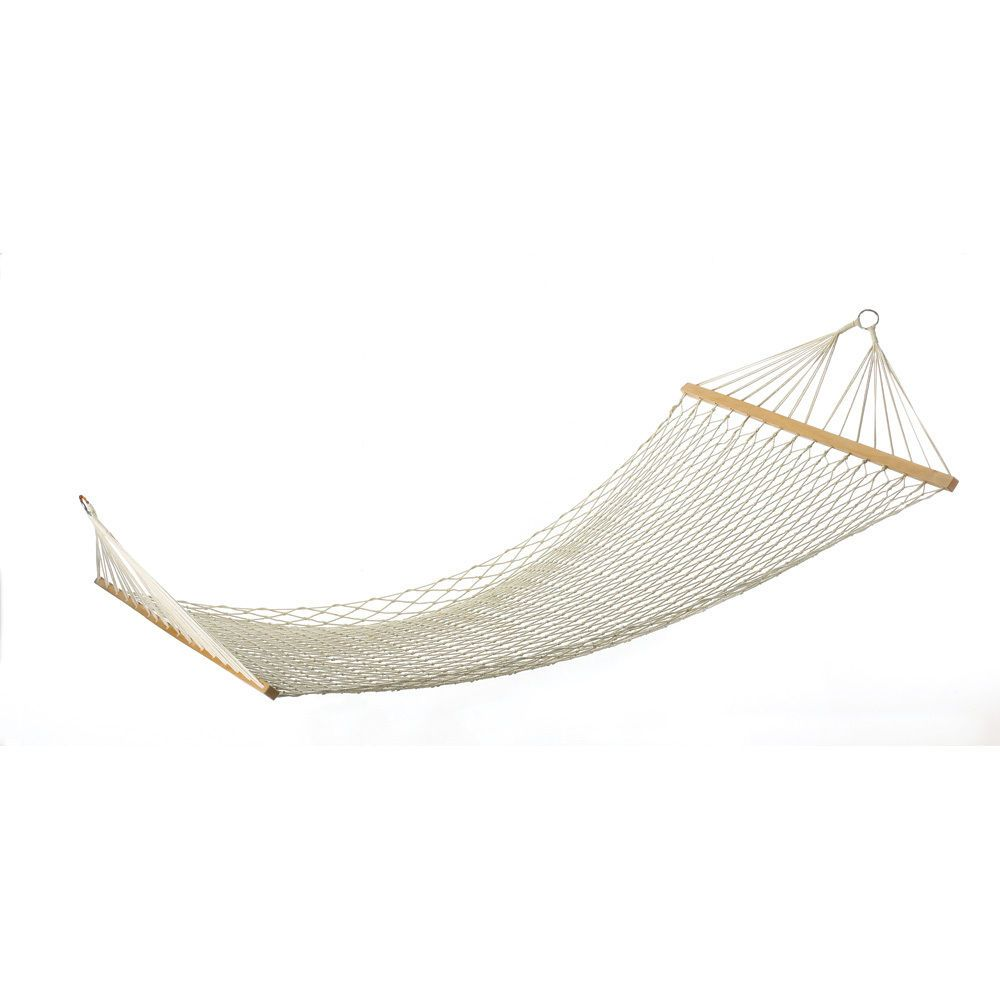 image bar hammock itm swing duty s quilted heavy loading spreader sturdy pillow double fabric is person with