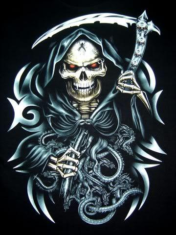 Grim Reaper Grim Reaper Skull Art Skull Wallpaper
