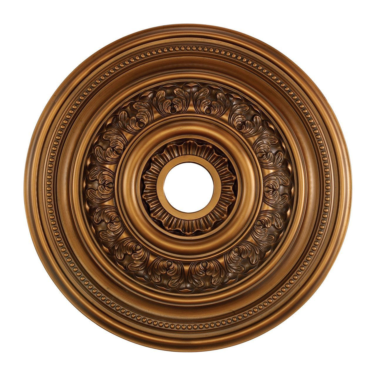 brass medallion b s inch ceiling lighting
