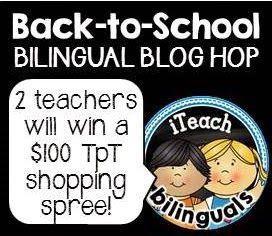 Back-to-School Bilingual Blog Hop