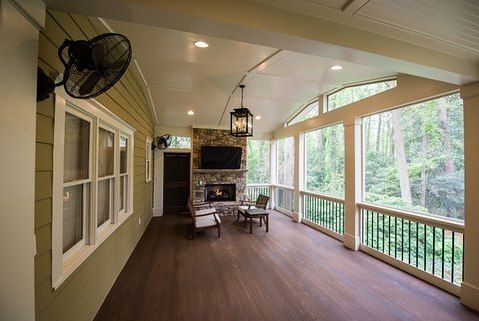 Here S A Few Details On This Project Floor Is T G Cypress Ceiling Is Beaded Plywood All Trim Including Columns Beam Wraps 1x Ceiling Trim Deck Outdoor Decor