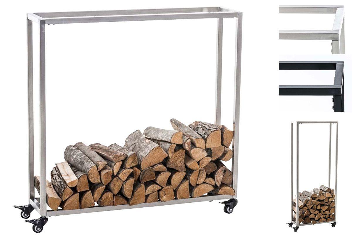 Détails sur Porte bûches rangement bois de chauffage HETTA ...