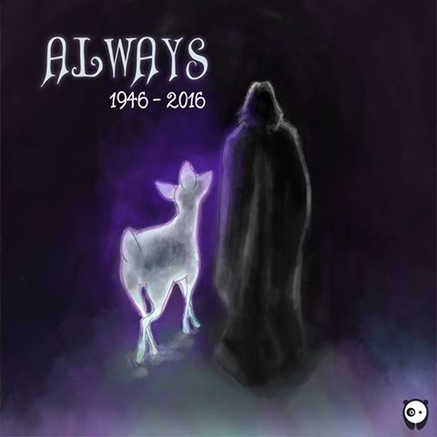 Alan Rickman will be remembered. Always.