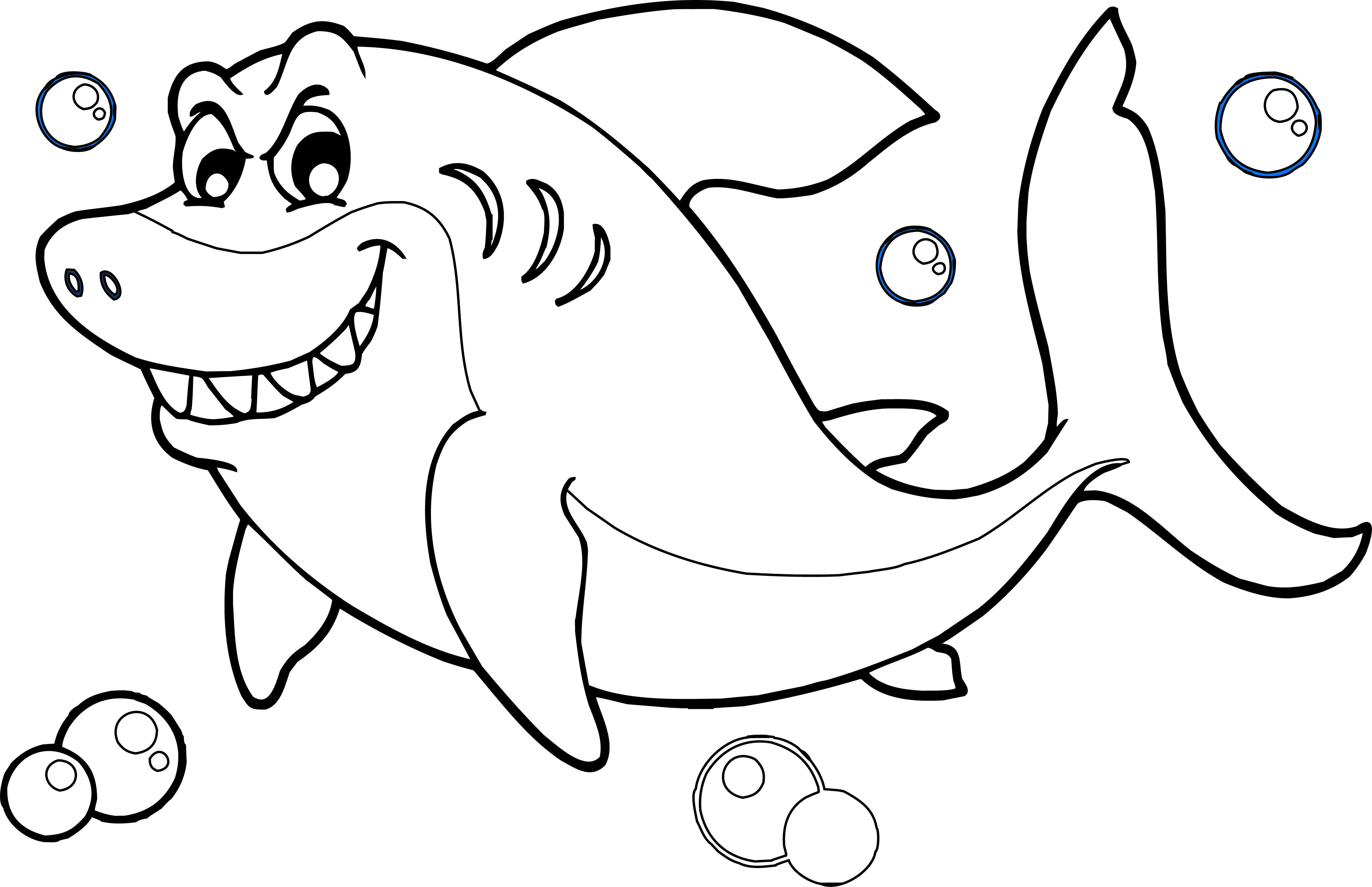 Shark Coloring Pages | Shark coloring pages, Coloring books, Coloring pages