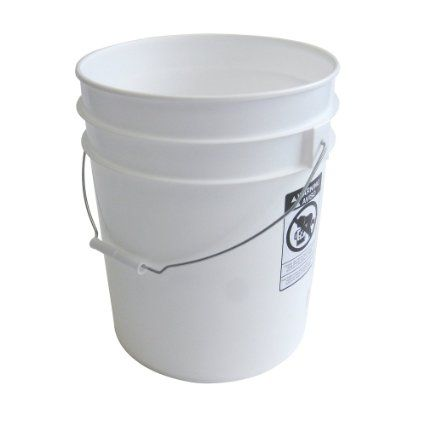 Amazon Com Argee Rg5700 10 Pack Plastic Bucket White Food Safe Bucket Plastic Buckets Five Gallon Bucket Cheap 5 Gallon Buckets