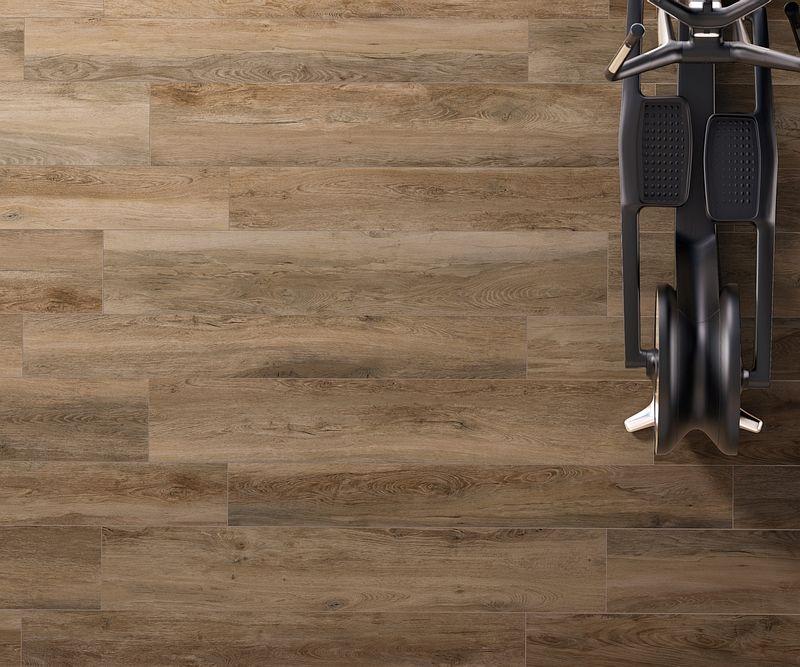 Elegant Rustikale Holzoptik Aus Feinsteinzeug Für Ihren