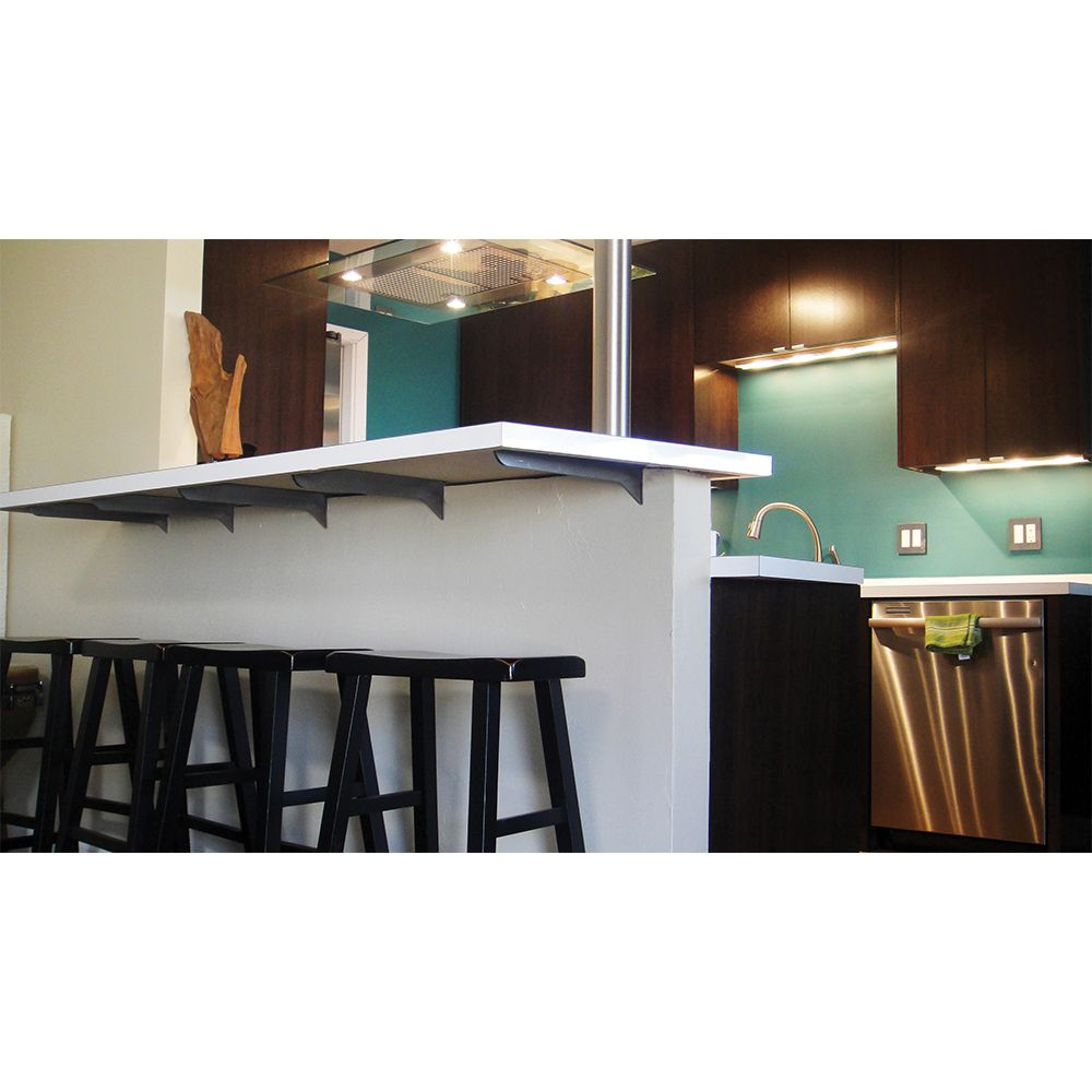 The Franklin Hidden Countertop Support Bracket Is Designed To