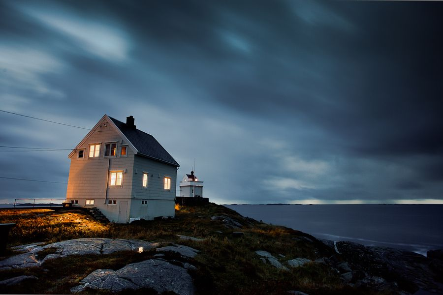 Ryvarden lighthouse by Tore Heggelund, via 500px