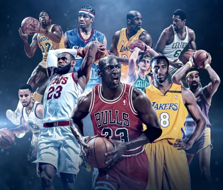 The Full List Slam S Top 100 Nba Players Of All Time 2018 Best Nba Players Nba Pictures Nba Basketball Art