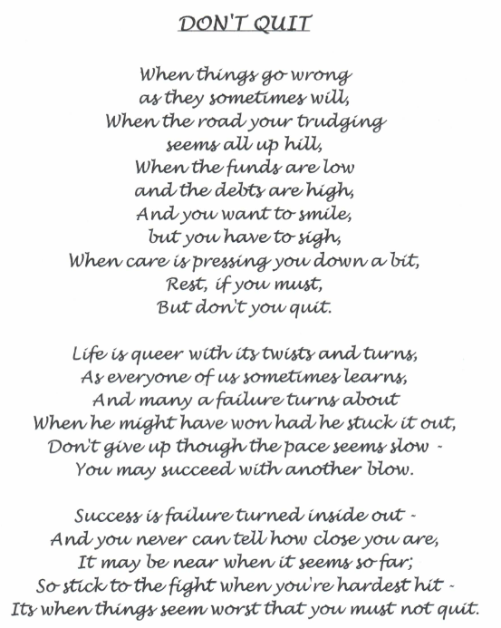 Inspirational Poems My Son 3