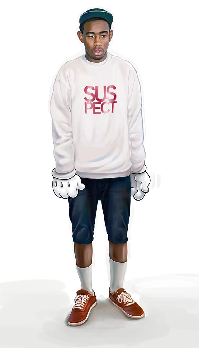 Who's the New Kid? Urban fashion, Retro cartoons, Tyler
