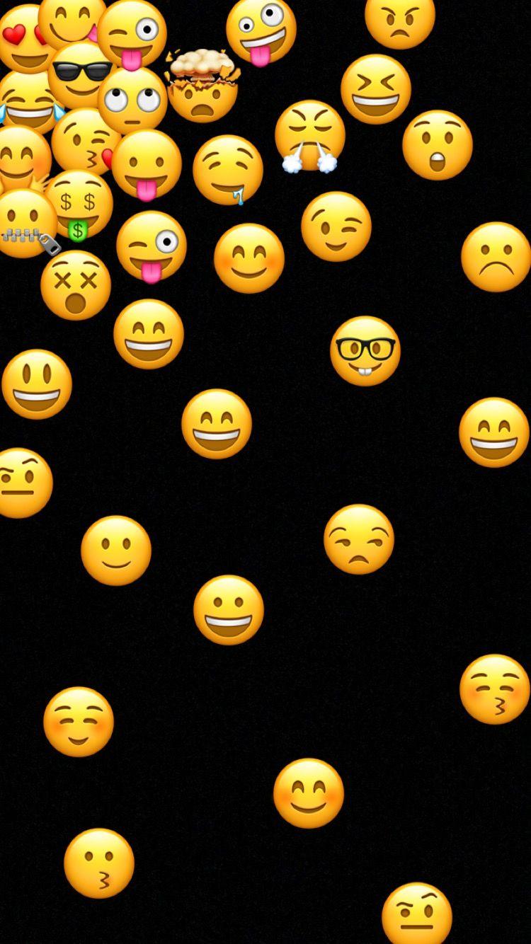 Idea by Unicorn_123 on Emojis Cute emoji wallpaper