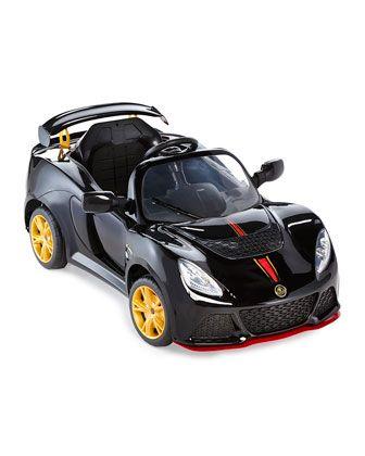 Attirant Kidsu0027 Electric Lotus Convertible, Black
