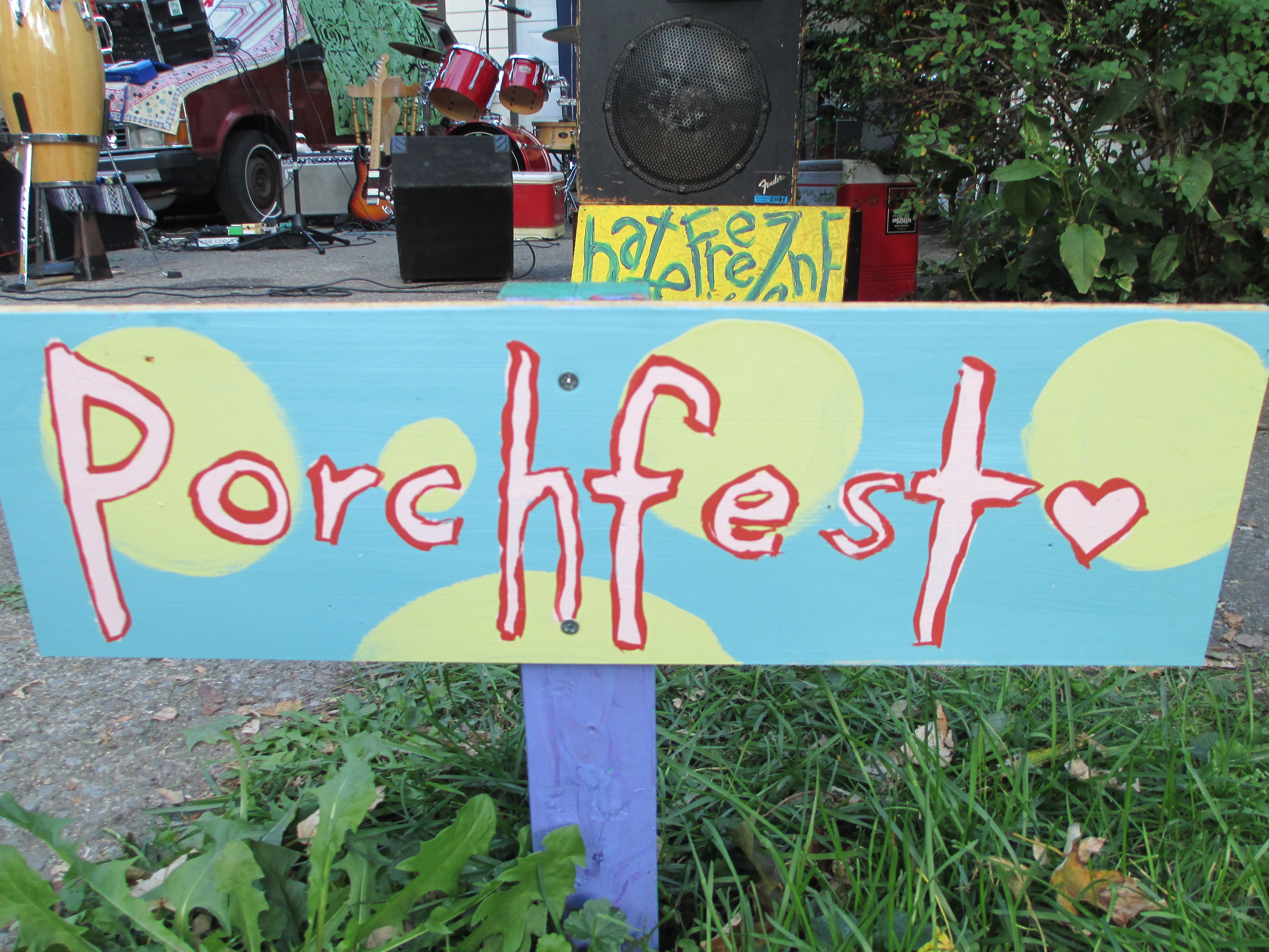 My friend, Donna Merrill, shares a fun day at her local Porchfest ...
