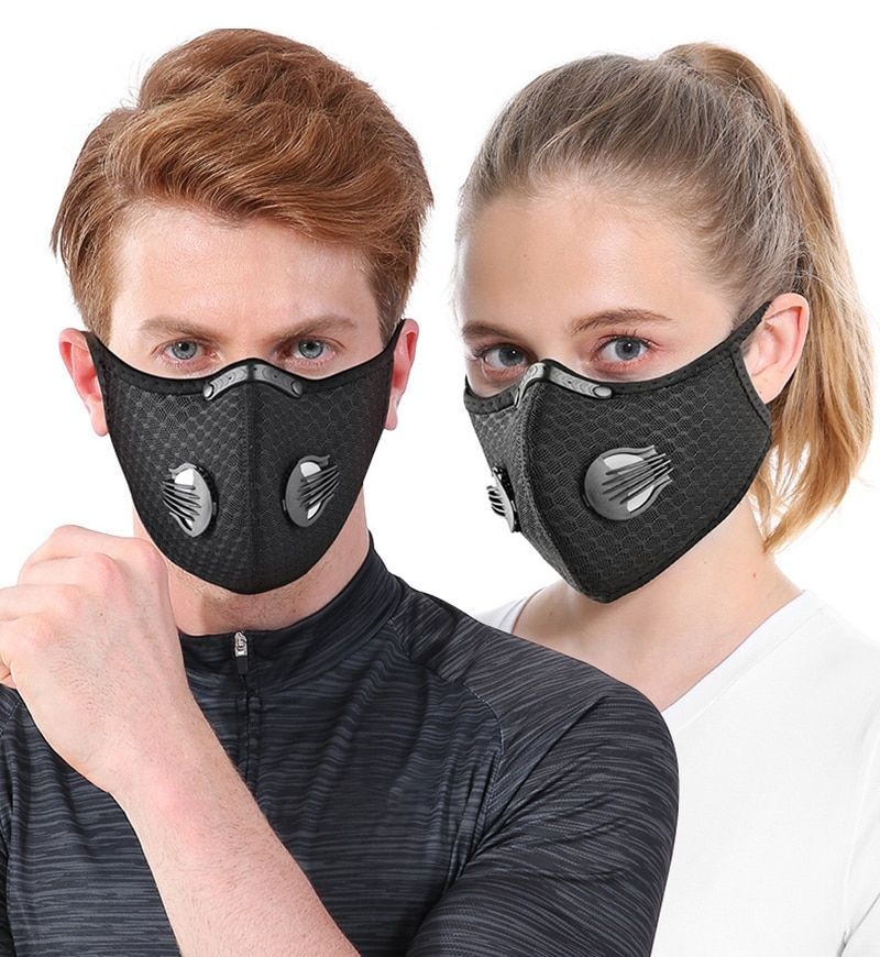 FACE MASK Cycling Cycle Dust Filter Sports Running